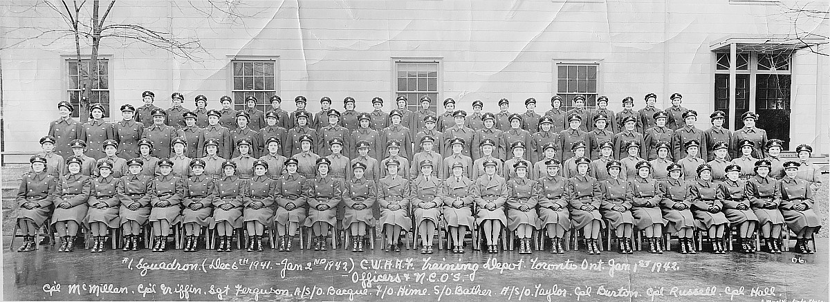Canadian Women's Auxilliary Air Force (CWAAF), 1942