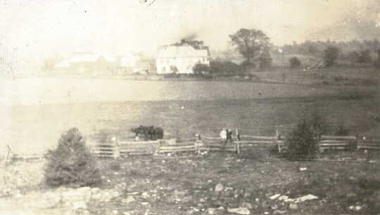 Photograph of farm