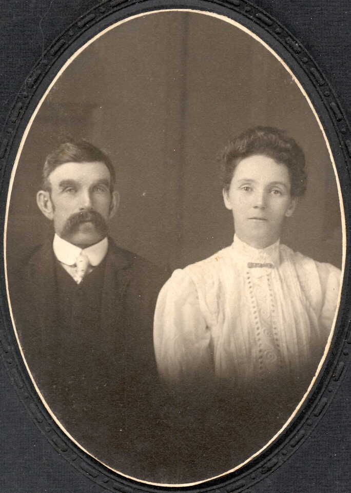 Photograph of Mr. and Mrs. Hamilton