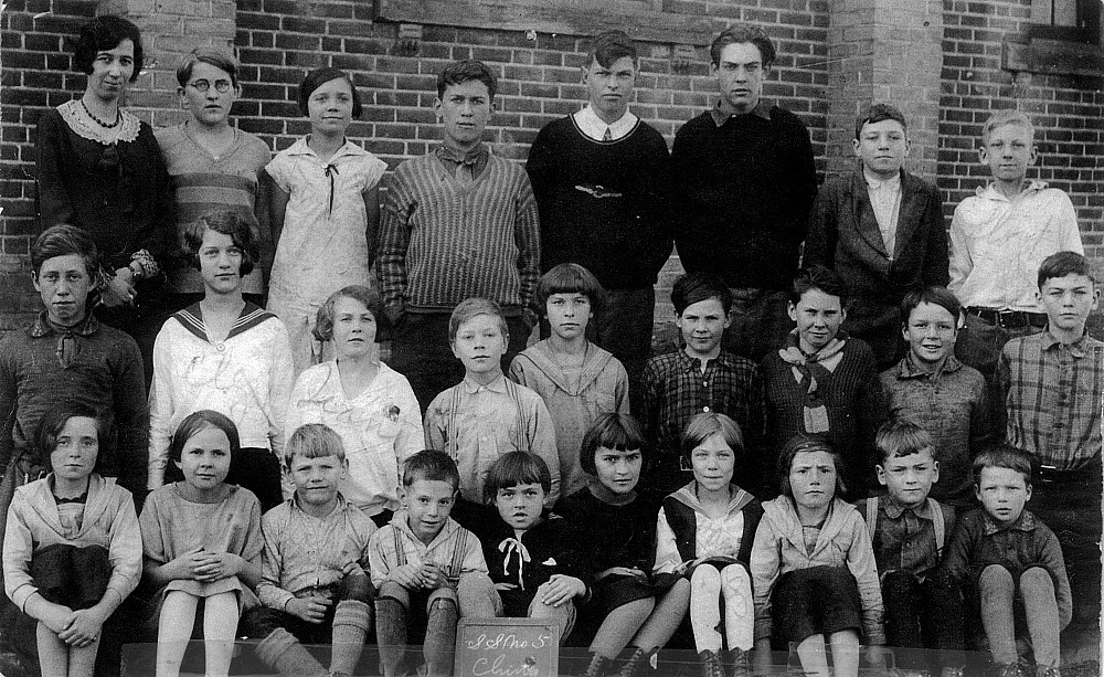 Chinguacousy Township Ontario, S.S. No. 5, 1931, Class Photo