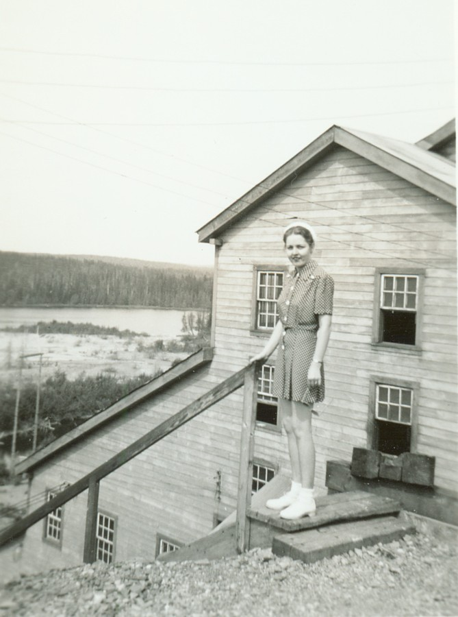 Northern Empire Mine, Ontario, summer of 1940