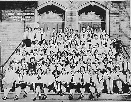 Girls' Conference, Iroquois Ontario, November, 1928.