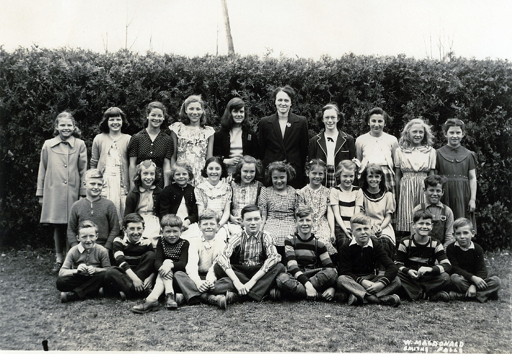 Photograph of an unidentifed group of children