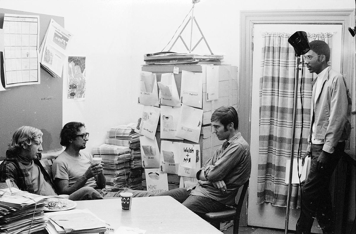 Guerilla newspaper, Toronto, 1970.